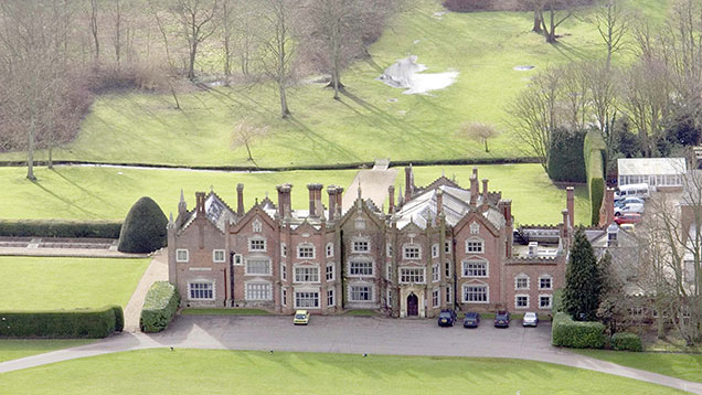 Great Witchingham Hall, Norfolk. © Rex Features