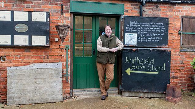 Jan McCourt from Northfield Farm.  © Jason Bye