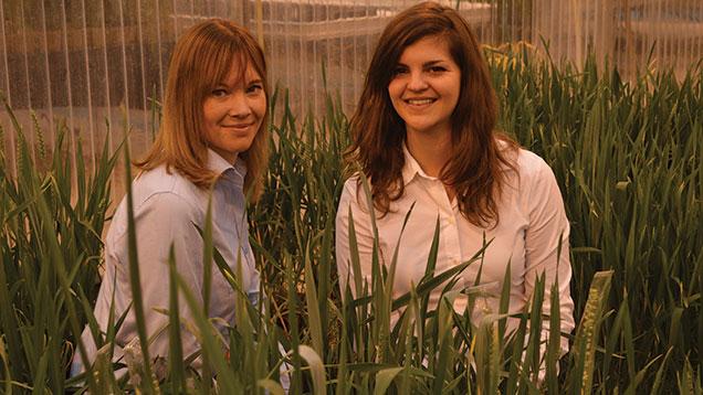 Melanie Wardle (left) and Kathryn Hearn.