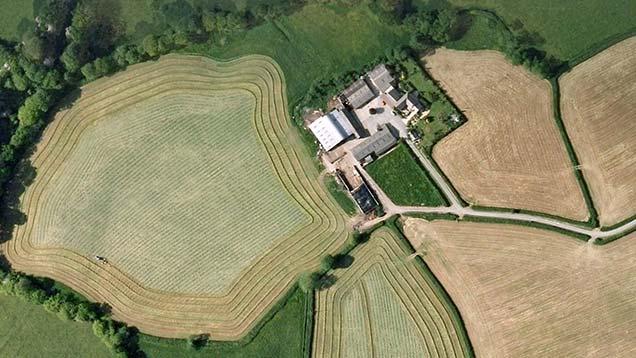 Caeremlyn Farm, Carmathenshire ©WNS