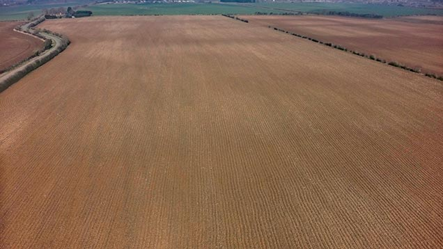 The large block of arable land near Bicester is classed as Grade 3.