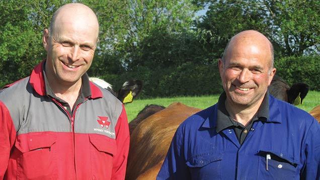 Guy (left) and John Turner