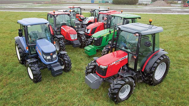 Used in Farmers Weekly tractor test (Machinery, 14 August 2015).