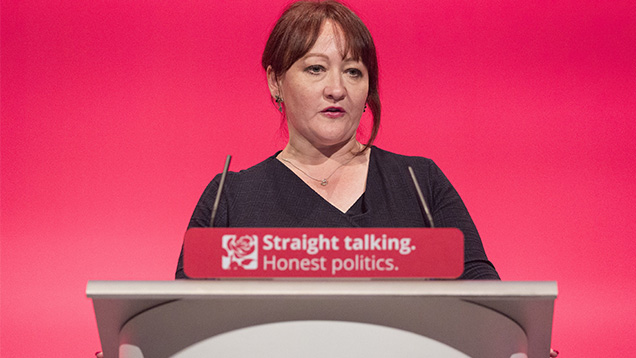 Kerry McCarthy at the Labour Conference 2015 © Ray Tang/Rex