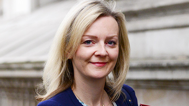 Defra secretary Liz Truss © Steve Back-REX Shutterstock