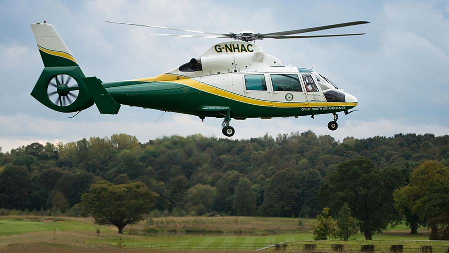 © Great North Air Ambulance Service