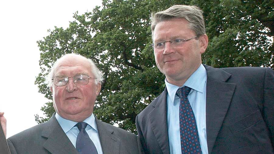 Lord Plumb and Peter Kendall