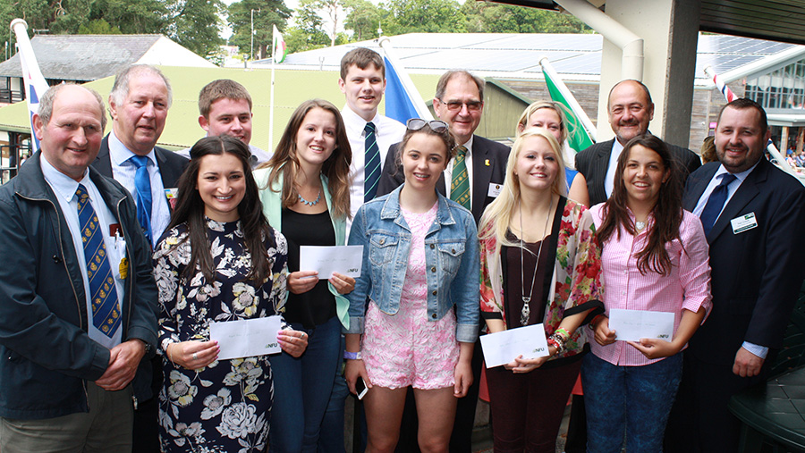 Previous winners of the Gareth Raw Rees Memorial Scholarship