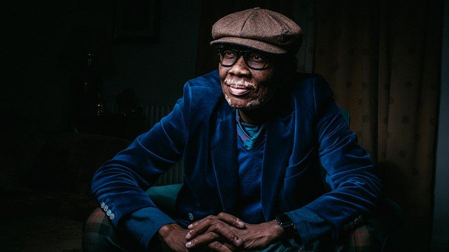 Founder of the Black Farmer brand, Wilfred Emmanuel Jones © Matt Austin/REX/Shutterstock
