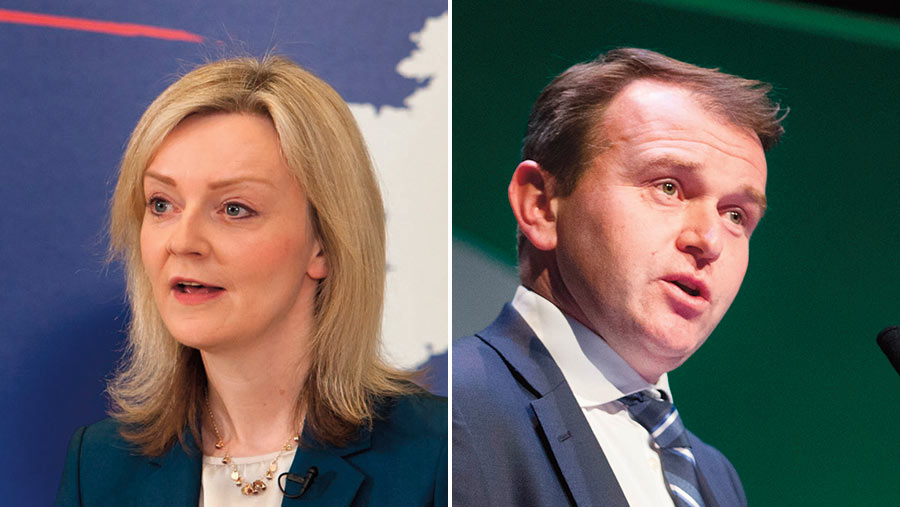 Defra divided: Liz Truss and George Eustice © LNP/Rex/Shutterstock and Tim Scrivener/Rex/Shutterstock