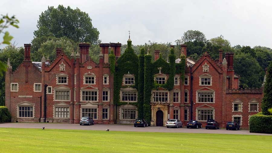 Great Witchingham Hall in Norfolk, the home of Bernard Matthews © Albanpix Ltd/REX/Shutterstock