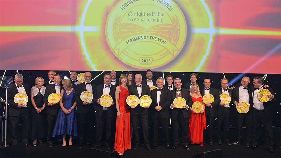 All the Farmers Weekly Award winners