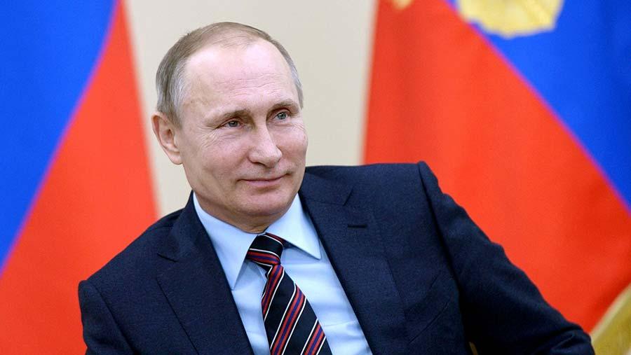 Vladimir Putin © Kremlin Pool/Planet Pix via ZUMA Wire/REX/Shutterstock