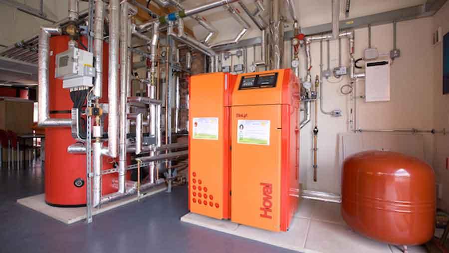 Biomass boiler © Tim Scrivener
