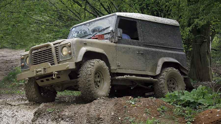 Land Rover Defender © Rex/Shutterstock