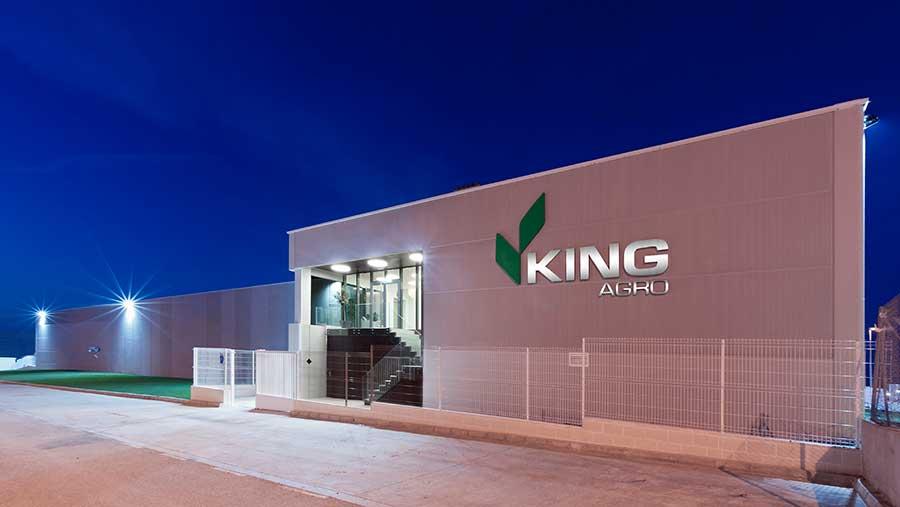 King Agro spray boom plant