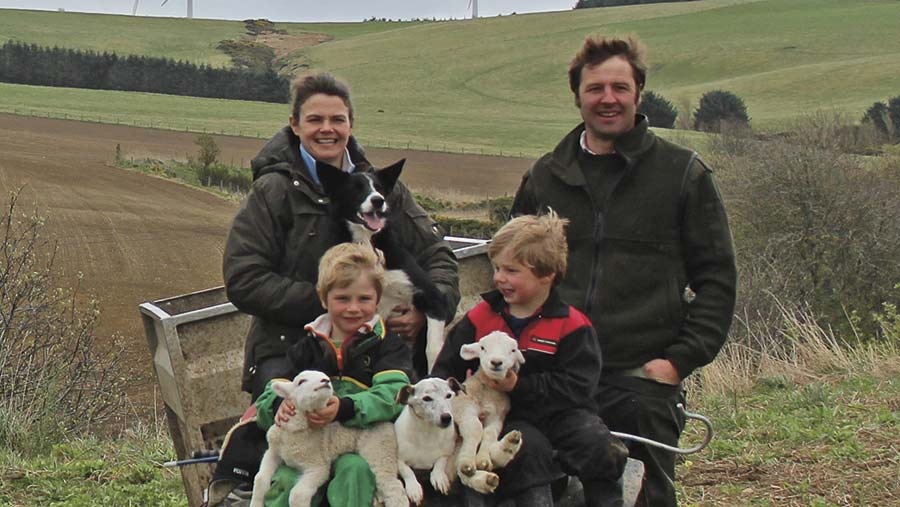 Jane Foad farms with her husband James and their two sons