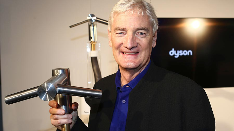 James Dyson © Action Press/REX/Shutterstock