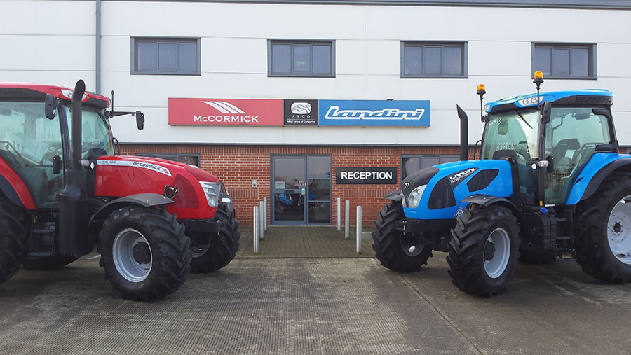 The AgriArgo UK HQ in Harworth, South Yorkshire