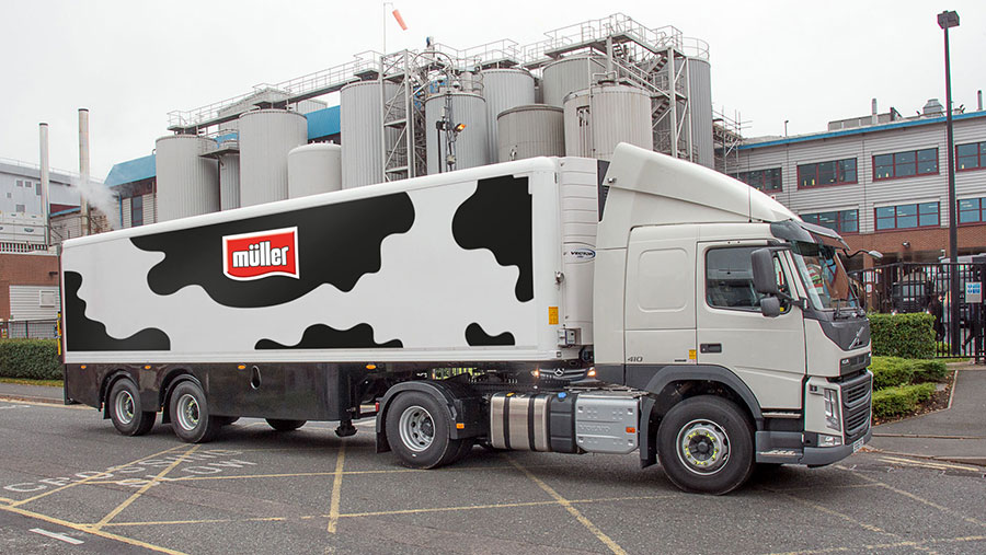Muller lorry
