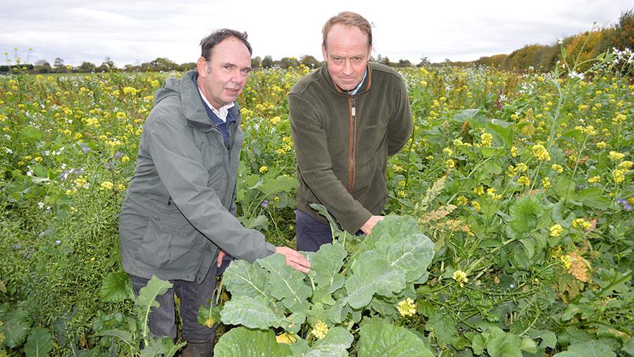 Neil Harris (left) and George Ponsonby