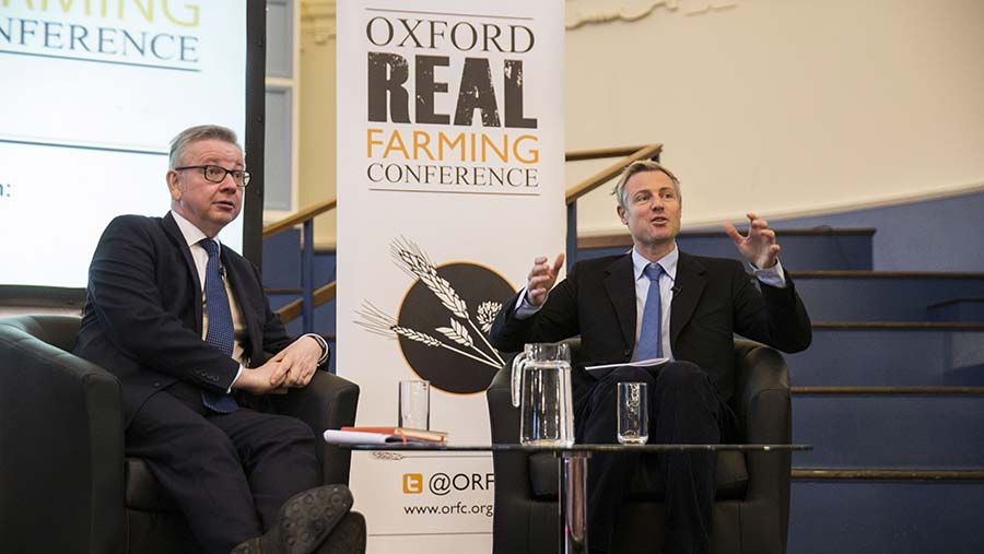 Michael Gove (left) with with Zac Goldsmith © David Hartley/ Rex/Shutterstock