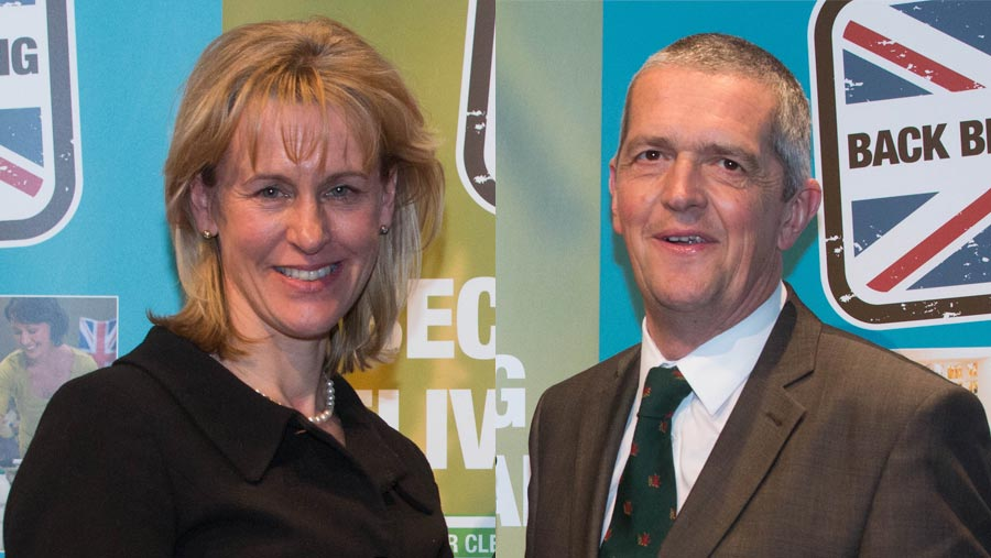 Minette Batters and Guy Smith © Tim Scrivener