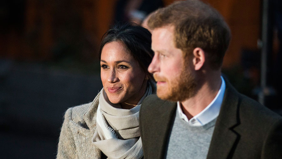 Meghan Markle and Prince Harry © Rob Pinney/LNP/REX/ Shutterstock