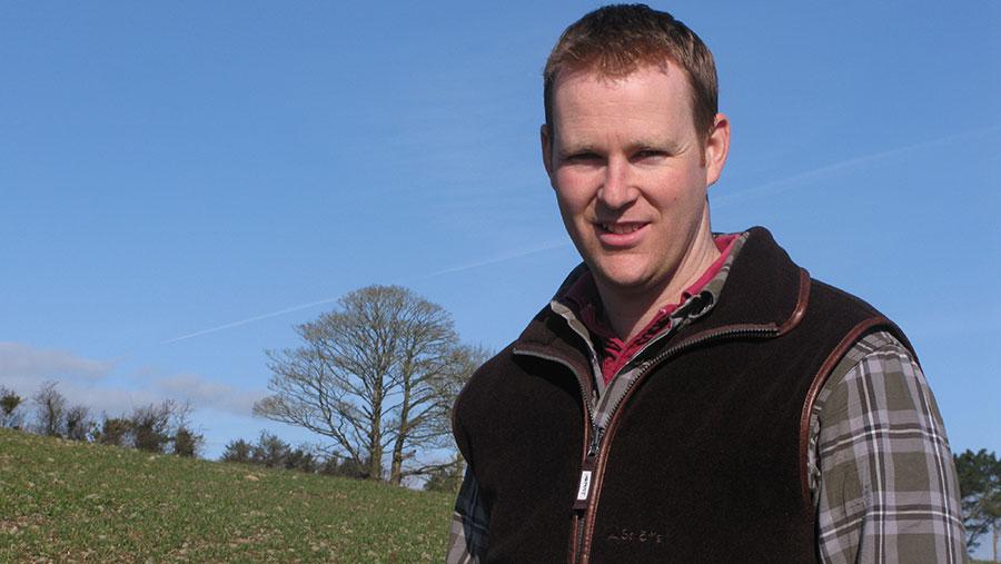 Richard Orr farms at Meadow Farm in Downpatrick © AHDB