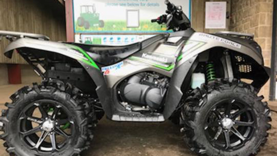 Quad bike theft