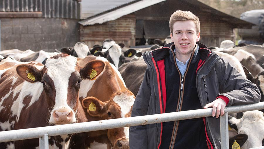 Josh Dowbiggin, a former FW Ag Student of the Year, was part of the campaign in 2018 © John Eveson