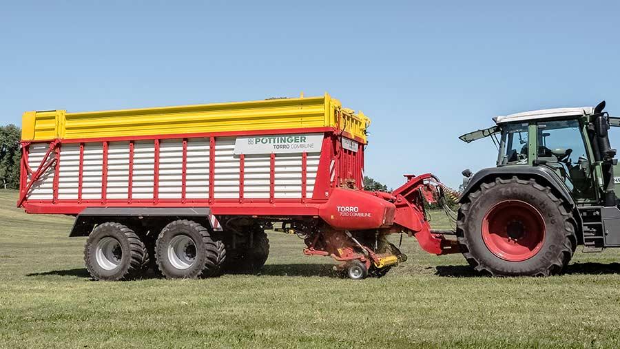 Pottinger Torro 7010 Combiline