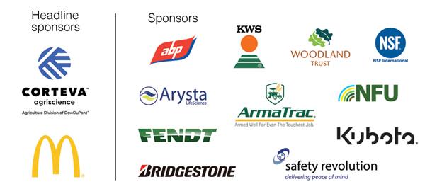 Awards sponsor logos