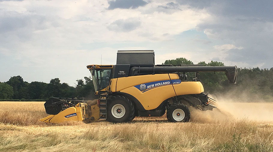 Ourfirst day of harvest kicks off with winter barley