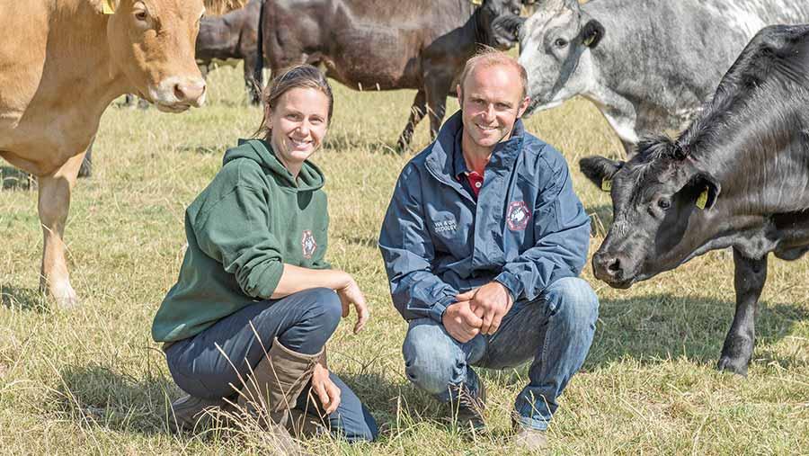 Gillian and Will Sedgley