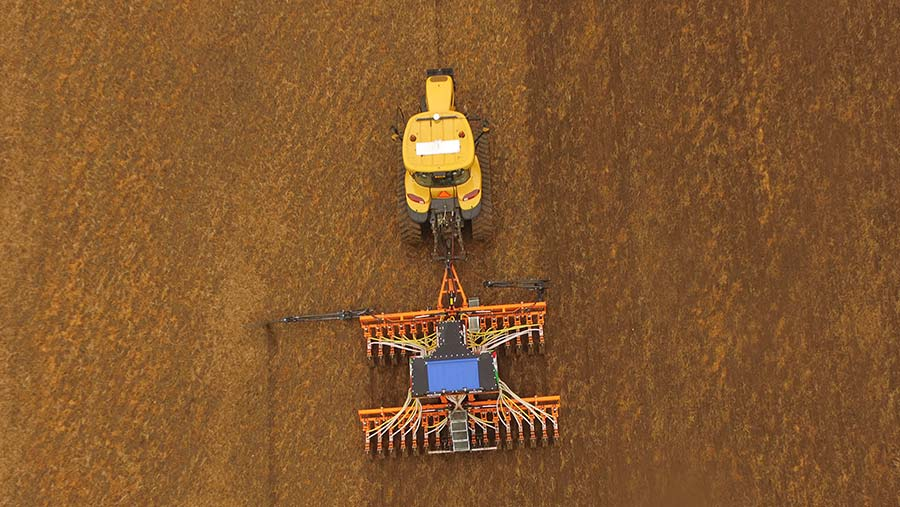 Aerial view of Ma Ag drill