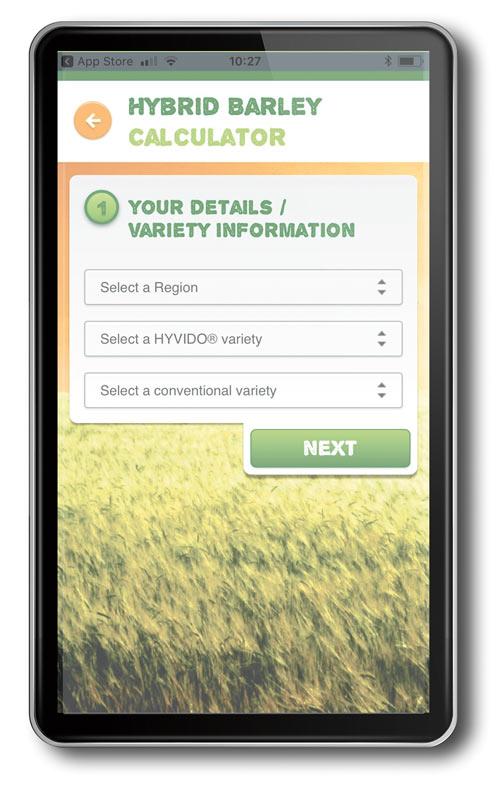 Syngenta hybrid barley app