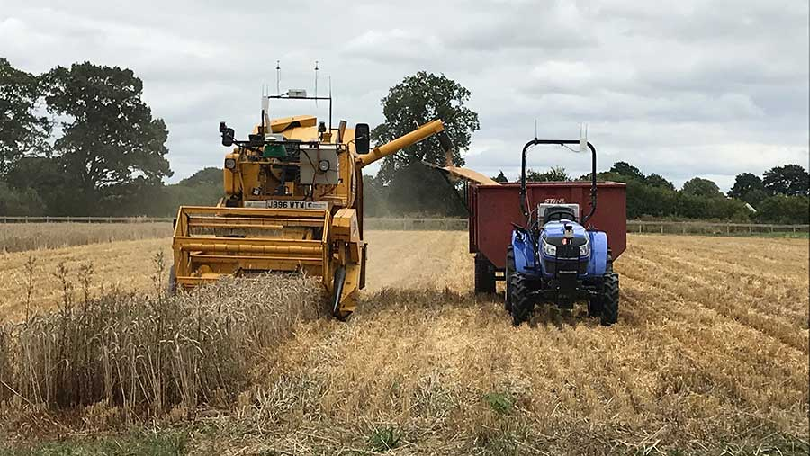 Autonomous combining on the Hands Free Hectare