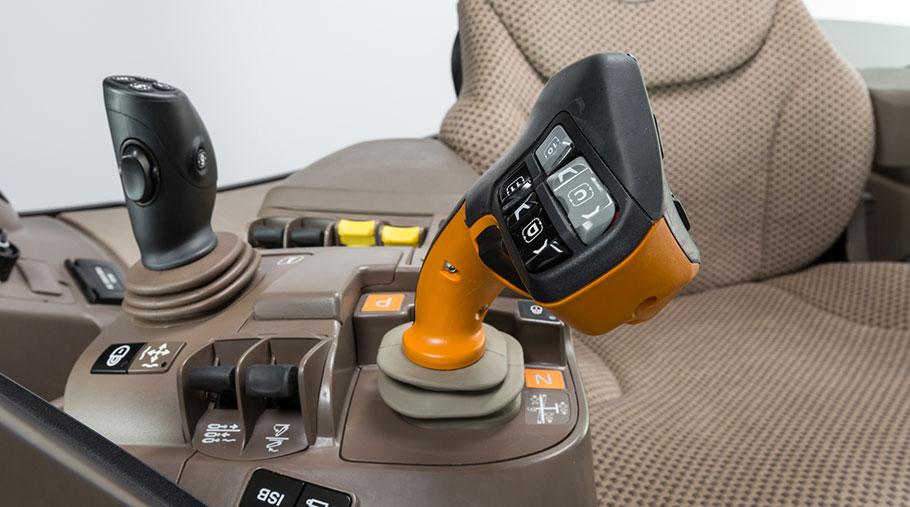 John Deere 6R Series tractor CommandPRO joystick