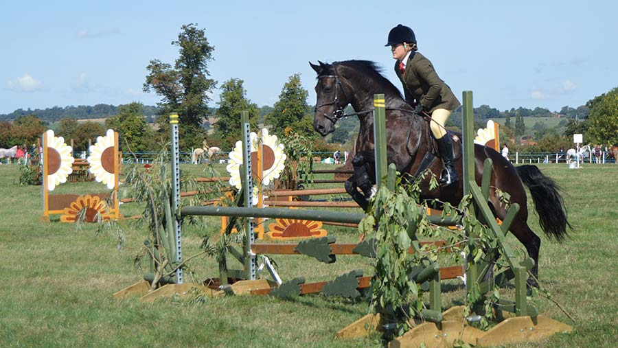 Show jumping at the Bucks Show © Hayley Parrott