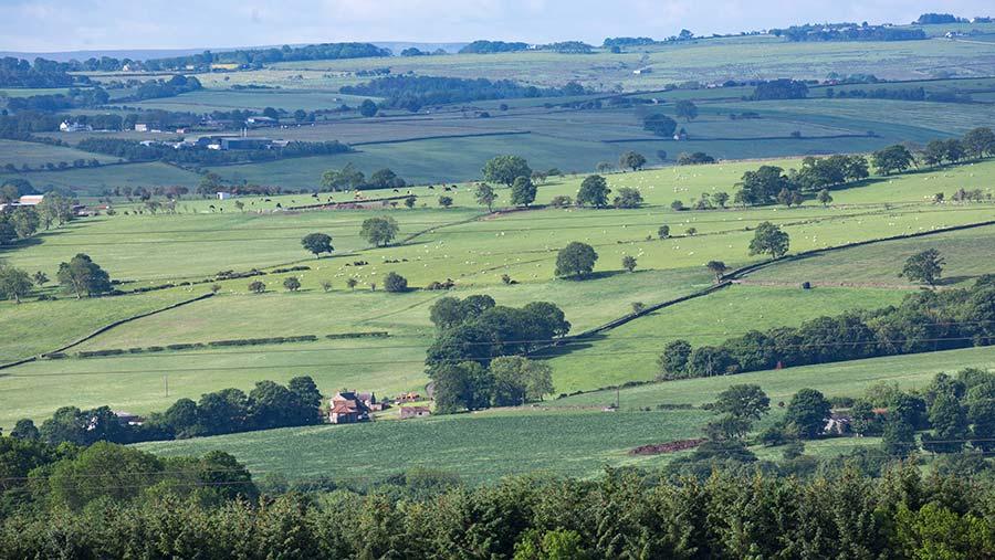 Farming landscape © Tim Scrivener