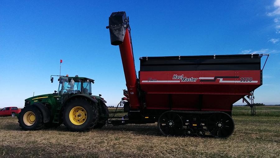 Matt Reimer's automated grain cart