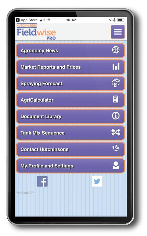 Hutchinsons Fieldwise app