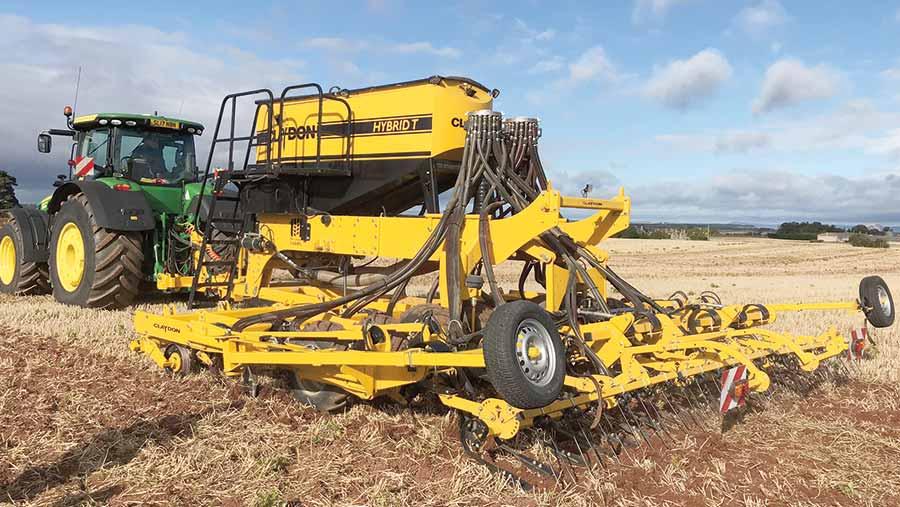 Claydon Hybrid T drill