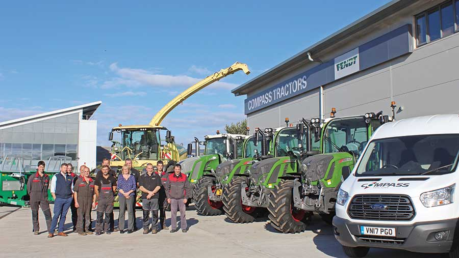 The team at Compass Tractors