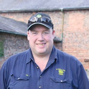 Yorkshire farmer Graham Potter