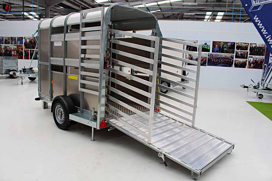 Ifor Williams small stock trailer