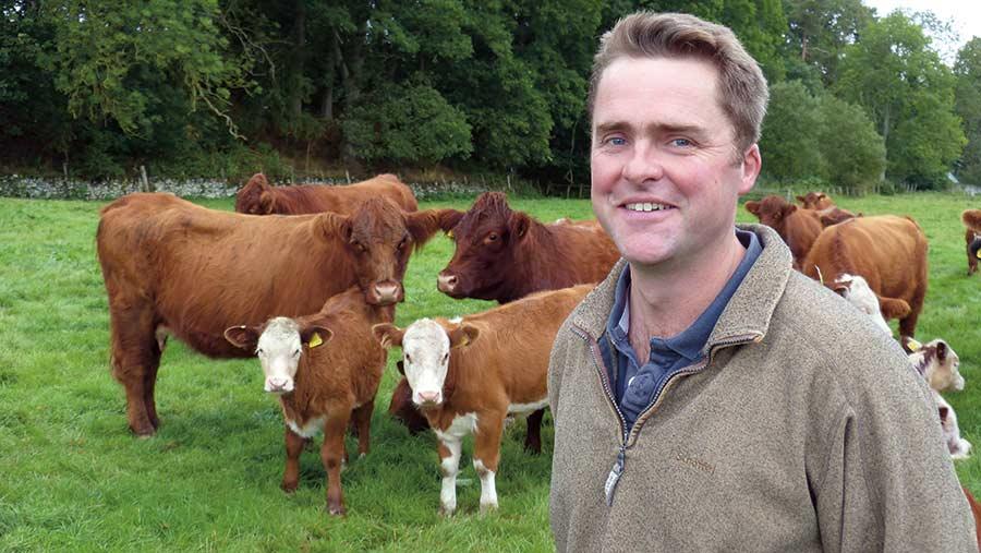 Scottish farmer Rob Wilson