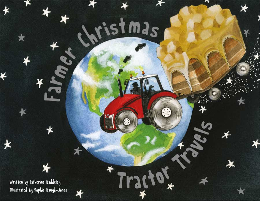 The cover of the Tractor Travels book by Catherine Baddleley