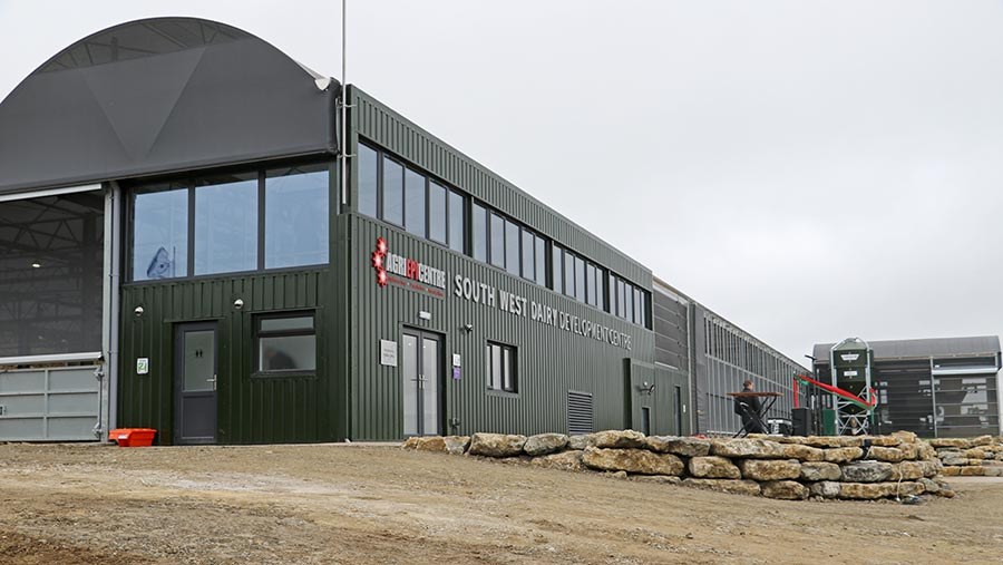 Exterior shot of the Agri-EPI Centre